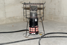 Hot Tot temporary Natural Gas heater