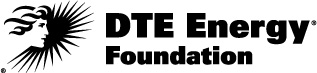 DTE Energy Foundation Logo - Black