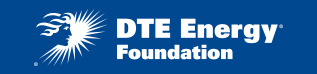 DTE Energy Foundation Logo - White