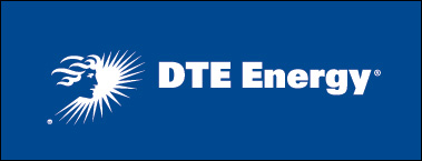 DTE Energy horizontal preferred logo - reverse