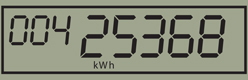 digital meter display
