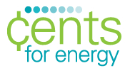 Cents for Energy logo