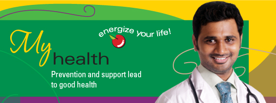 My Health - Prevention and support lead to good health